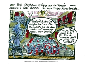 Kulturbehörde-Cartoon