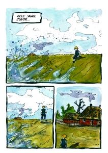 Schimmelreiter Comic- der junge Hauke Haien