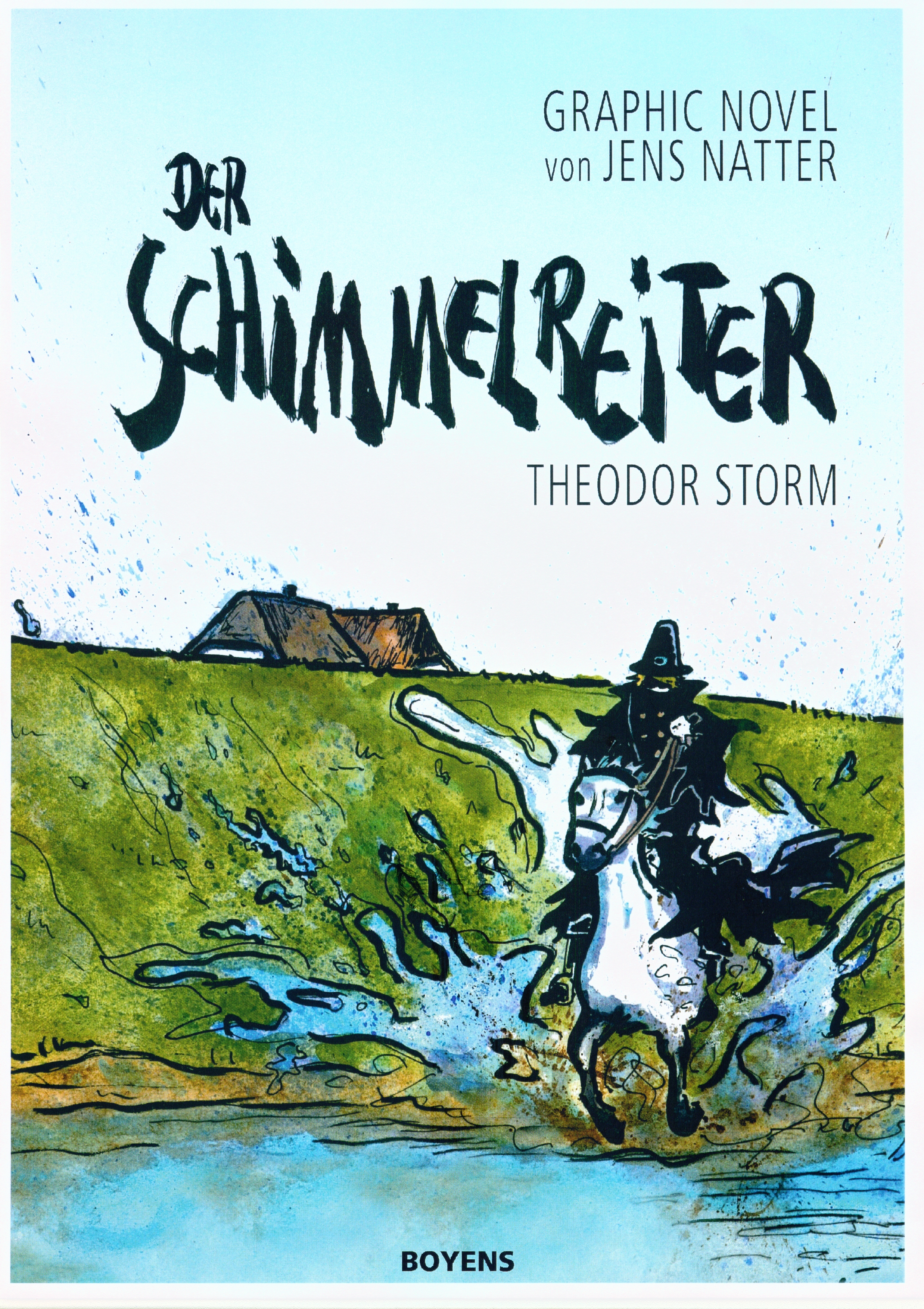 Der Schimmelreiter – Graphic Novel (Theodor Storm - Jens Natter)