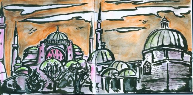 Istanbul-Zeichnung