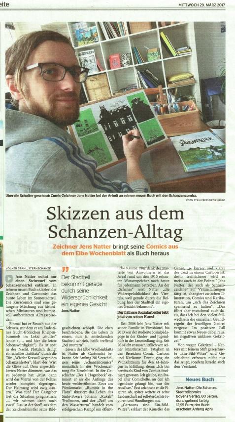 Schanze Bericht elbeWB