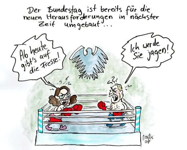 Bundestag nach der Wahl