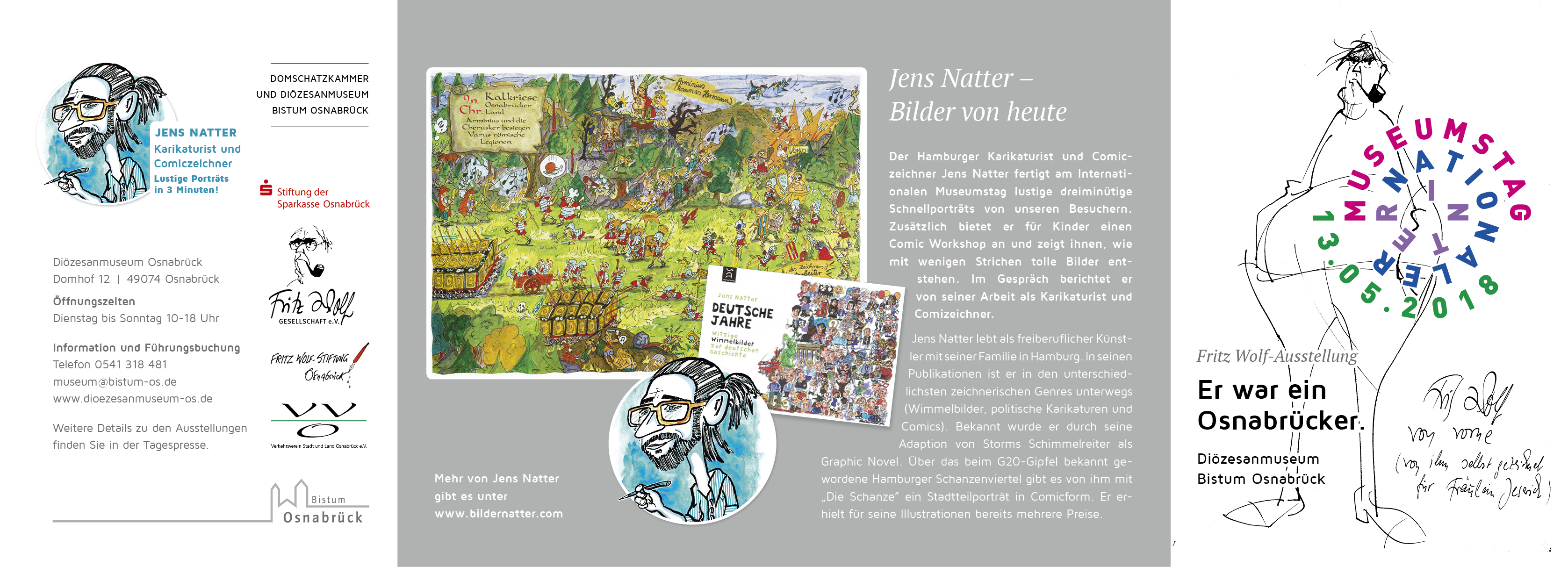 Flyer_Fritz-Wolf_Museumstag