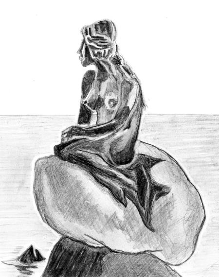 Meerjungfrau-kopenhagen